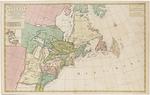 BMC 37--Carte nouvelle de l'Amérique Angloise, contenant la Virginie, Mary-Land, Caroline, Pensylvania, Nouvelle Iorck, N:Iarsey, N. France, et les terres nouvellement découerte dressé sur les relations les plus nouvelles. Circa 1700