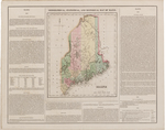 BMC 56--Geographical, Statistical, and Historical Map of Maine, 1826 by Henry Charles Carey and Isaac Lea
