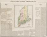 BMC 57--Carte Geographique, Statistique et Historique Du Maine, circa 1822