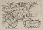 BMC 58--Carta Della Nuova Inghilterra Nuova Iork, e Pensilvania; 1763