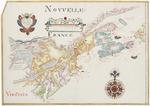 BMC 60--Nouvelle France, Nova Anglia, Nova Scotia, and Virginia, 1684