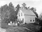 Monson, Rural Family circa 1900 Glass plate 4