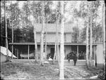 Monson, Rural Family circa 1900 Glass plate 15