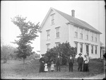 Monson, Rural Family circa 1900 Glass plate 48