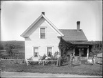 Monson, Rural Home circa 1900 Glass plate 29