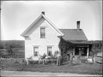 Monson, Rural Home circa 1900 Glass plate 29