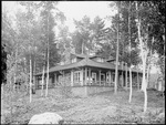 Monson, Rural Home circa 1900 Glass plate 37
