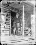 Monson, Rural Home circa 1900 Glass plate 50