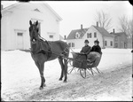 Monson, Rural People circa 1900 Glass plate 43