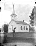 Monson, Rural Town circa 1900 Glass plate 58