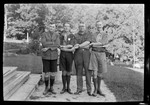 """Boy Scouts From Four Nations """"Blue Ridge-- Nations"""" by George French"""