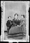 A Portrait Of A Woman With Two Children by George French