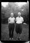 """Full Length Portrait Of George French And His Brother Will """" W & I"""" by George French"""