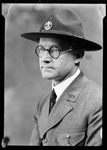 George French's Boy Scout Portrait with Hat by George French
