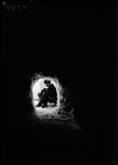 "Boy In A Snow Cave (Hut). ""Snow Hut- Don In"" by George French"