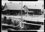 """Grist And Bobbin Mill In Kezar Falls. """"Grist And Bobbin Mill- Ormaw Woodbury Carry Pail"""" by George French"""