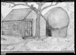 Drawing Of Stacey School In Porter And Skull Rock by George French