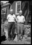 Full Length Photo Of George French And His Brother Will by George French