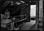 Attic Room In Old French Homestead In Parsonsfield. by George French