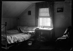 Attic Bedroom Of French Homestead In Parsonsfield. by George French