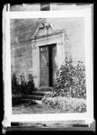 A Print Of An Ornate Doorway In Deerfield, Massachusetts. by George French