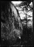 Face Of A Large Boulder. by George French