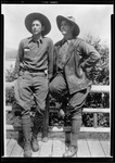 Full Length Shot Of Two Men Named Henry True And Herb Welch by George French