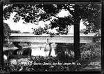 Covered Bridge Saco River, Hiram Me . by George French