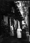 """A Group Photo Titled """"Aunt Ruth And Morrill?"""" by George French"""
