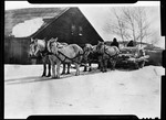 Horse Drawn Snow Roller by George French