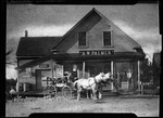 A.W. Palmer Store With Wagon And Team Out Front by George French