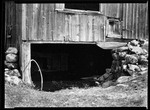 Dark Hole Under Barn by George French