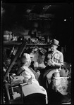 George French And Mother In Basement Of Homestead by George French