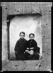 """A Tintype Of Two Yound Boys """"Copy Maurice Tintype"""" by George French"""