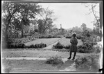 Barb Alone By Garden At French's Home In, New Jersey (Daughter) by George French