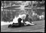 Demonstration Of Reviving A Person Who Had Nearly Drowned by George French