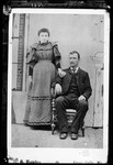 A Cabinet Photo Of Man And Wife (Chas French) by George French
