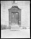 Old Door On Front Of Old House In Deerfield, Massachusetts by George French