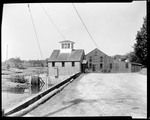 View Of Mill By Stream In Kennebunk by George French