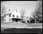 Old Country Store With Gas Pumps In North Lovell by George French
