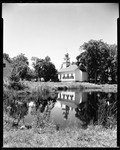 Church Reflected In A Pond In Sandwich, N.H. by George French