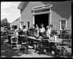 """""""Sunshine Farm"""" Barn With Many Items Out For Sale In Sandwich, N.H. by George French"""