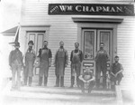 Exterior View Of William Chapman's Shoe Store & Staff by George French