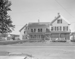 Exterior View Of Illsey's Home In Kezar Falls by George French