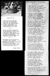 """Poems Copy Negatives Of Two Poems """"Tin Lizzie"""" And """"Station Wow"""" by George French"""
