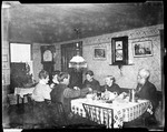 Trueworthys Family Eating At Table by George French