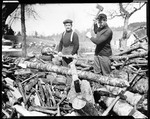 Ern And I, George French, Cutting Wood, Kezar Falls by George French