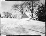 Deep Snow At Rear Of A Home, Will's Place by George French
