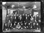 Group Photo Of Boy Scout Troop 20, Interior View On New Jersey by George French