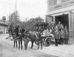 New Jersey Horse Drawn Fire Fighting Apparatus by George French